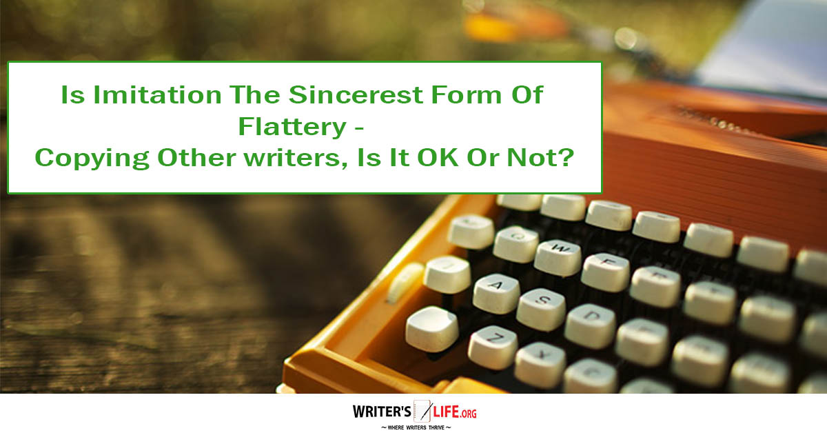 imitation is the highest form of flattery essay writer