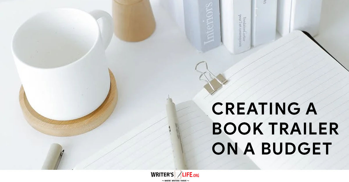 creating a book trailer - picture of a coffee cup on a table