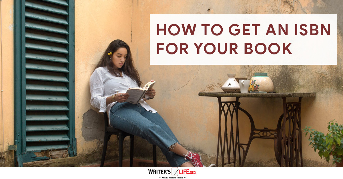 How To Get An ISBN Number For Your Book - Woman sitting by a table reading a book